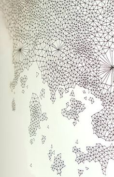 Inspiration for a geometrical linear pattern design