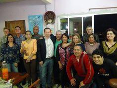 Entre os compromissos de sábado a noite, um deles foi na casa de meu grande amigo Ismael. No encontro novos amigos aderiram a nossa campanha.