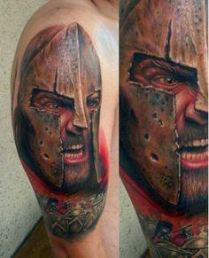 Fotos de Tatuagens: tattoo guerreiro no braço