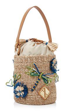 Aranaz Dragonfly Mini Bucket Bag