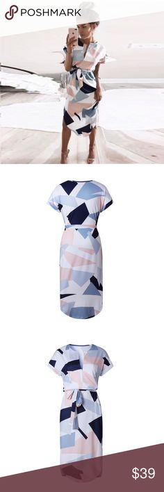 Sophisticated Geometry Dress Size S Sophisticated Geometry Dress S. Absolutely adorable! Amazingly soft, high quality, polyester cotton blend, Sophisticated Geometry Dress is perfect for work or a night out. Runs TTS!Versatile and so pretty. Xemoda Dresses Midi