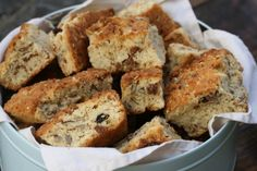 buttermilk rusks with seeds