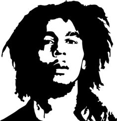Bob Marley Decal Rasta sticker Pot Decal Hippy by RespectPrinting, $5.00