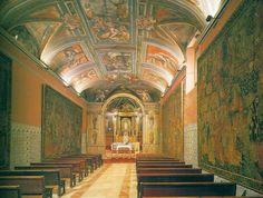 La iluminación interior del templo toledano El Toboso fue realizada por la Fundación Iberdrola