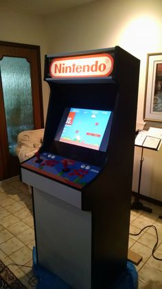 DIY Mario Themed RetroPie Arcade - Album on Imgur