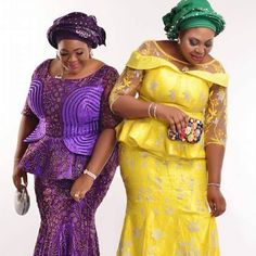 18 Unique Asoebi Styles For Church, Engagement and Wedding Are you searching for African Lace Dresses For Wedding, African Lace Styles For Church, Nigerian Lace Styles, African Lace Styles, African Lace Dresses, African Dresses For Women, African Style, Latest African Fashion Dresses, African Print Fashion, Africa Fashion, Lace Gown Styles