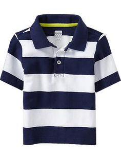 Striped Jersey Polos for Baby | Old Navy