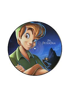 <p>Songs from the <i>Peter Pan</i> soundtrack on an exclusive double-sided picture disc! Limited edition.</p>  <ul> 	<li>2016</li> </ul>
