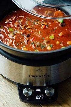 Crock-pot goulash