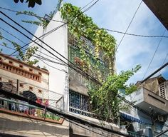 This playful family house in Saigon preserves the memory of Vietnam's respected architect and collector of antiques. Reclaimed Furniture, Wilderness, Abandoned, Wildlife, Street View, Earth, Antiques, City, Water