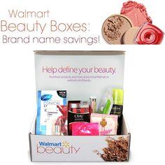 Walmart beauty box via @beautytidbits