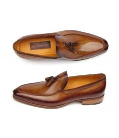 f9fdfc500e88bf Camel Brown Patina Loafers Mens Designer Shoes, Men's Shoes, Dress Shoes,  Shoe Boots