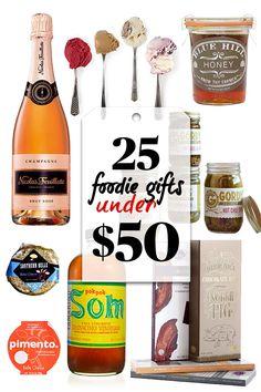 25 Yummy Food Gifts Under $25