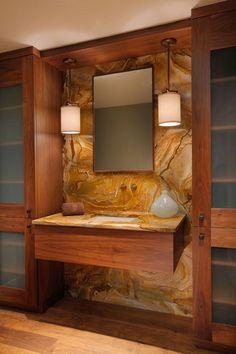 contemporary bathroom by W Design