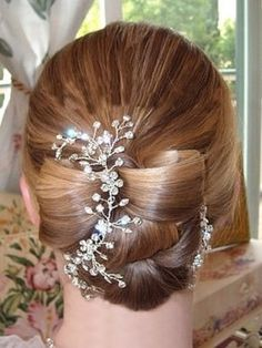 Great hair style and ornament