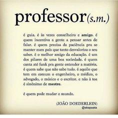 """Aos mestres com muito carinho. Parabéns professores! """"Que saudades da professorinha!"""" <3 <3  #Tio #Teacher  #Professor #Professores English Class, Some Words, Chemistry, Like Me, Quotations, Meant To Be, Messages, Teaching, Lettering"""