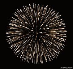 """""""Fireworks in reverse."""""""
