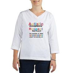 Autistic Acceptance Women's Long Sleeve Shirt  #TShirt #Tee #Autism #ASD #Aspergers #Neurodiversity #AutisticAcceptance