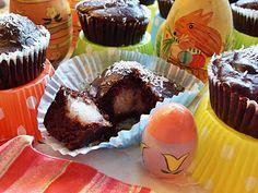Fondant au chocolat, coeur de noix de coco (Vegan)