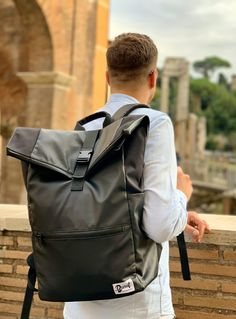 Dunut weekender Backpack, ready for Roma. Geneva Switzerland, Weekender, Backpacks, Seasons, Winter, Fashion, Blue Prints, Bag, Winter Time