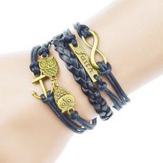 Owl Inspired Faith Bracelet Brand New in packaging! Jewelry Bracelets