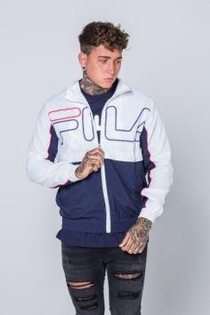 Fila - Blackline Kekova Jacket - White | Iconic brand Fila is now available at Urban Celebrity! Shop the full range online now!