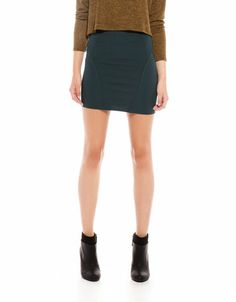 Bershka Ukraine - Bershka colour skirt