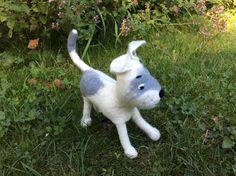 Hund: Leinen - Sonstige - AugustWolke - Kotbeutel-Tasche - Hundeaccesoires - ein Designerstück von Filz-Land bei DaWanda
