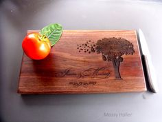 Cutting Board Custom and Personalized Gift for by MossyHoller, $28.00