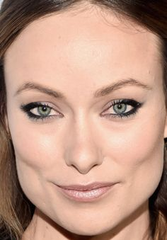 Close-up of Olivia Wilde at ELLE's 2016 Women in Television celebration. http://beautyeditor.ca/2016/01/27/best-beauty-looks-lily-james