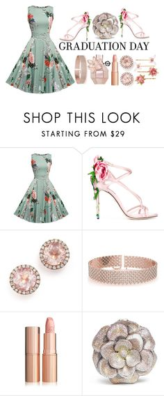 """""""Shine Forth"""" by pulseofthematter ❤ liked on Polyvore featuring Dolce&Gabbana, Dana Rebecca Designs, Allurez, Judith Leiber and Accessorize"""