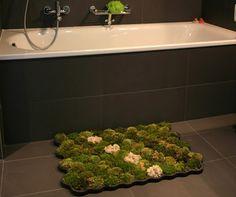 Moss bath mats on pinterest bath mats shower mats and bath for Moss shower mat