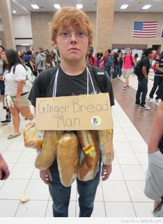 Ginger, Bread Man...could be the funniest thing I have ever seen!