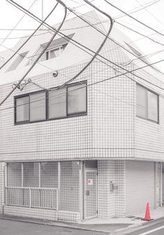 Grids and lines (Shirokanedai, Tokyo)| © Jan Vranovský, 2016