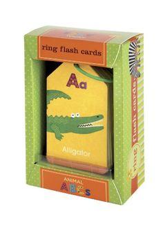 Animal ABC's Ring Flash Cards Mudpuppy http://www.amazon.com/dp/0735308365/ref=cm_sw_r_pi_dp_AjdStb077R5ED1SZ