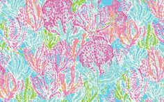 Learn how to paint this Lilly Pulitzer print