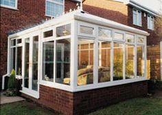 The elegant Edwardian conservatory is an ideal choice if you wish to add that much wanted grandeur to your home! Edwardian Conservatory, Rustic French Country, Back Patio, Conservatories, Elegant, Home, Design, Classy