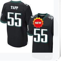$66.00--55 Darryl Tapp Jersey - Nike Stitched Alternate Philadelphia Eagles  Jersey,Free Shipping! Buy it now:http://is.gd/GdxIyj