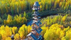 Dr. Seuss House - Alaska Credit: @mearsinak You can easily see how this whimsical house outside of Talkeetna is known to everyone as the Dr. Seuss House. The owner originally planned to build a two-story cabin, but he decided to add another floor and didn't stop. There are now somewhere between 14 and 17 floors. The best way to see it is by taking a ride on the Alaskan railroad.