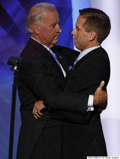 Beau Biden, son of Vice President Joe Biden, dies at age 46 of brain cancer Joe Biden Son, Beau Biden, Obama Vice President, Meghan Mccain, Piers Morgan, Human Rights Campaign, Democratic National Convention, American Presidents, American History