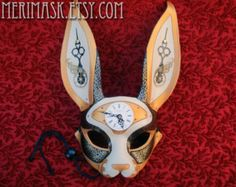 Digressing from the Japanese style mask, here are some alternate animal styles (Merimask on Etsy.com, 2014)