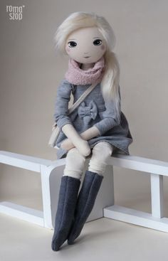 Katia – roma miła, handmade doll by romaszop