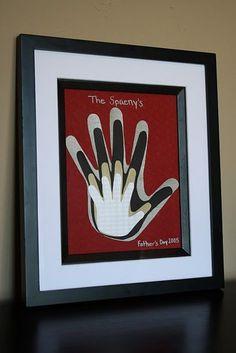 Hands. Cute idea.