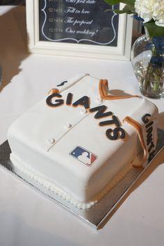 San Francisco Giants Groom's Cake