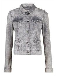 Grey denim jacket. Sandwich collection spring 2015.