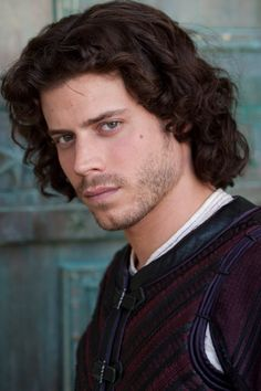 I try not to think too hard on the fact that I only find this actor attractive in his role on the Showtime series The Borgias - he plays a Cardinal! :o