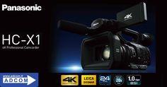 Panasonic, all'IFA 2016 di Berlino, ha presentato la sua nuova HC-X1, un camcorder 4K dalle prestazioni professionali destinato ai videomaker piu' esperti.  L'uscita prevista per l'Italia sarà nel 2017.