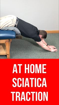 Dr. Rowe demonstrates at home spinal decompression for sciatica pain relief. These decompression traction based exercises may give sciatica and lower back pain relief in as little as 30 SECONDS!  These exercises are going to focus on pulling motions, or spinal decompression TRACTION, to help open up the low back and relieve pressure lumbar spinal discs  These exercises are SAFE, effective, don't require any special equipment, and can be done in the comfort of your own home. Hip Pain Relief, Sciatica Pain Relief, Lower Back Pain Relief, Sciatic Nerve Exercises, Lower Back Pain Exercises, Lumbar Exercises, Knee Strengthening Exercises, Yoga Poses For Sciatica, Sciatica Stretches