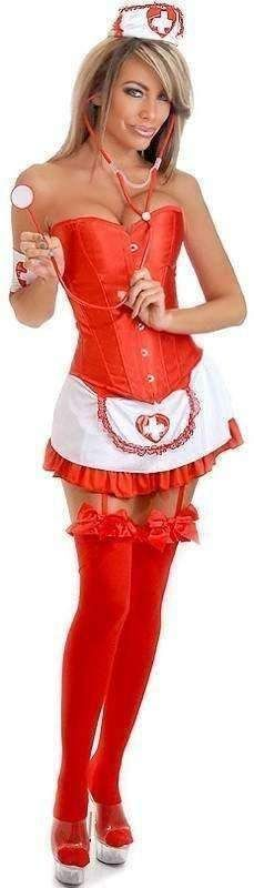 Daisy 5 PC Sexy Nurse Costume