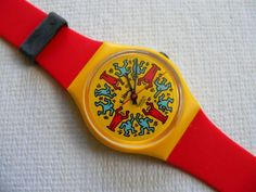 Modele Avec Personnages GZ100 Swatch Watch